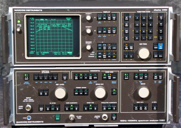 Marconi2382 Spectrum Analyzer