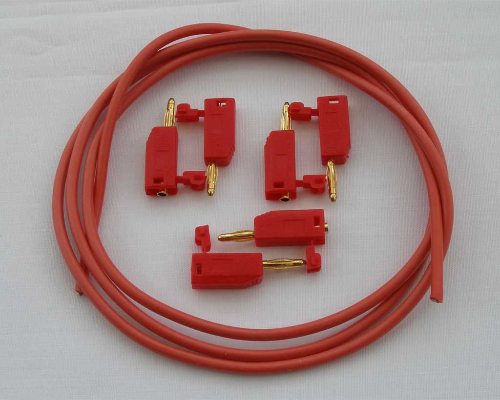 LushOne stackable patch lead kit (x3)