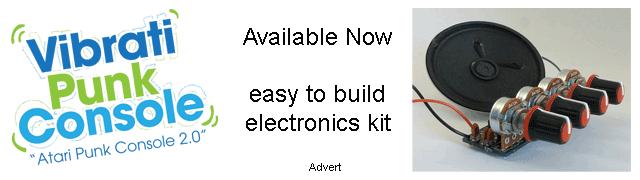 Vibrati Punk Console Advertisement